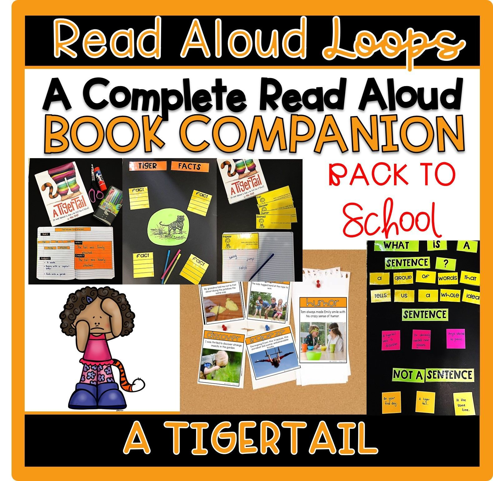 Back To School Read Aloud A Tiger Tail