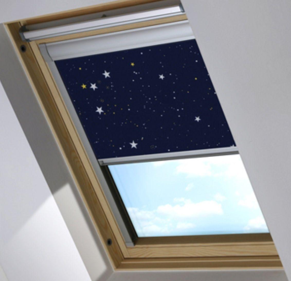 Bloc blinds skylight blackout blind in night sky