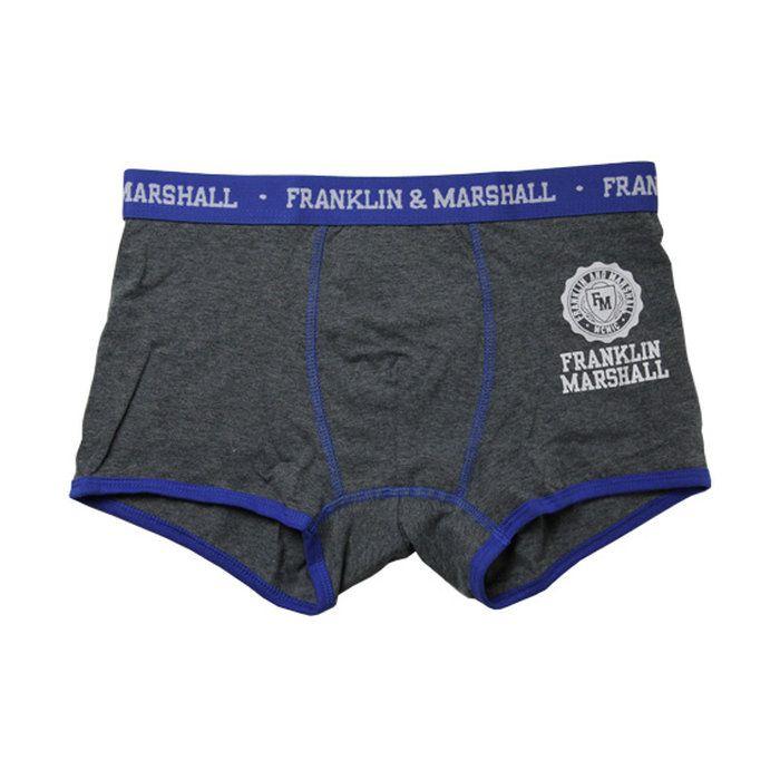 2016.1.2 (フランクリン&マーシャル)FRANKLIN&MARSHALLBOXER(ボクサーパンツ/男性下着)グレー
