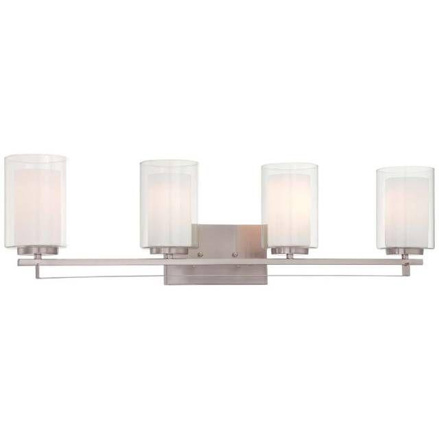 Minka Lavery 610484 4 Light Vanity Light From The Parsons Studio New Minka Lavery Bathroom Lighting Design Ideas