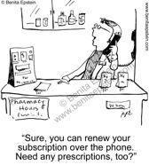 funny medical cartoon pharmacy pharmacist drugs medication