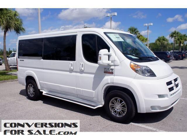 2014 Ram Promaster 1500 Low Roof Sherrod Conversion Van