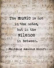 La Musique N Est Pa Dan Le Note Mai Silence W A Mozart Quote Music Quotes Dissertation Sur