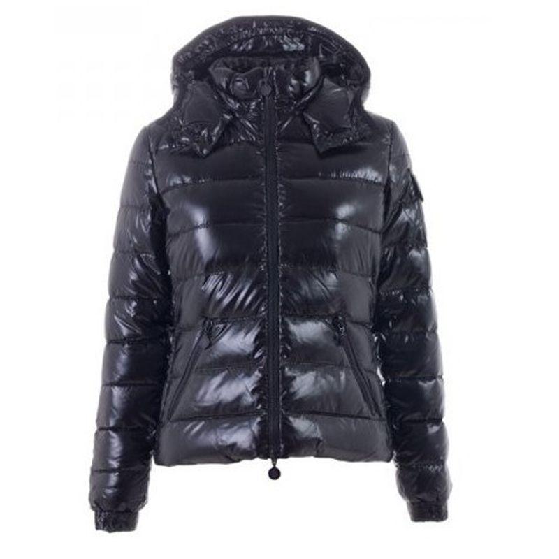 Women Moncler Black Bady Hooded Padded Jacket | Fashion