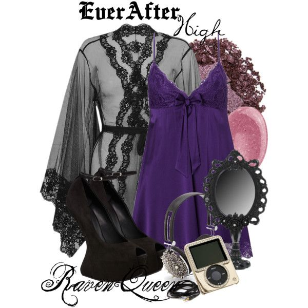 """""""Ever After High : Raven Queen"""" by missm26 on Polyvore"""