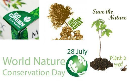 Today World Nature Conservation Day Is Observed To Create Awareness For Protecting And Conserving The Earth S In 2020 Nature Conservation Trees To Plant Conservation