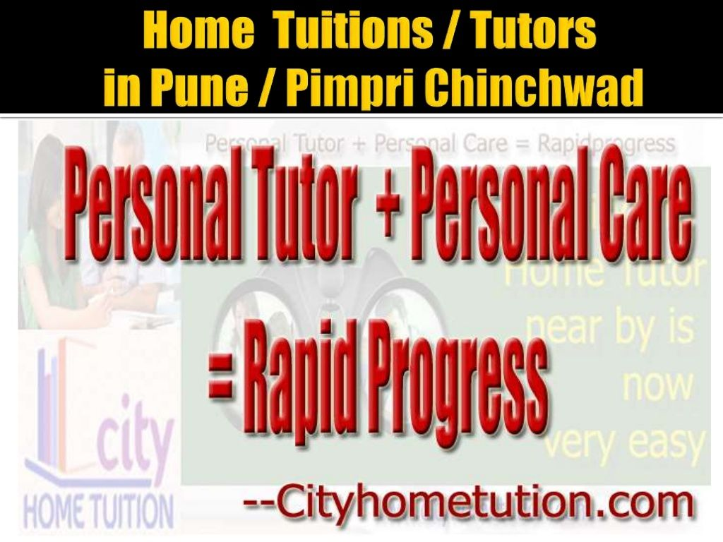 Home Tuitions / Home Tutors in Pune by City Home Tuition