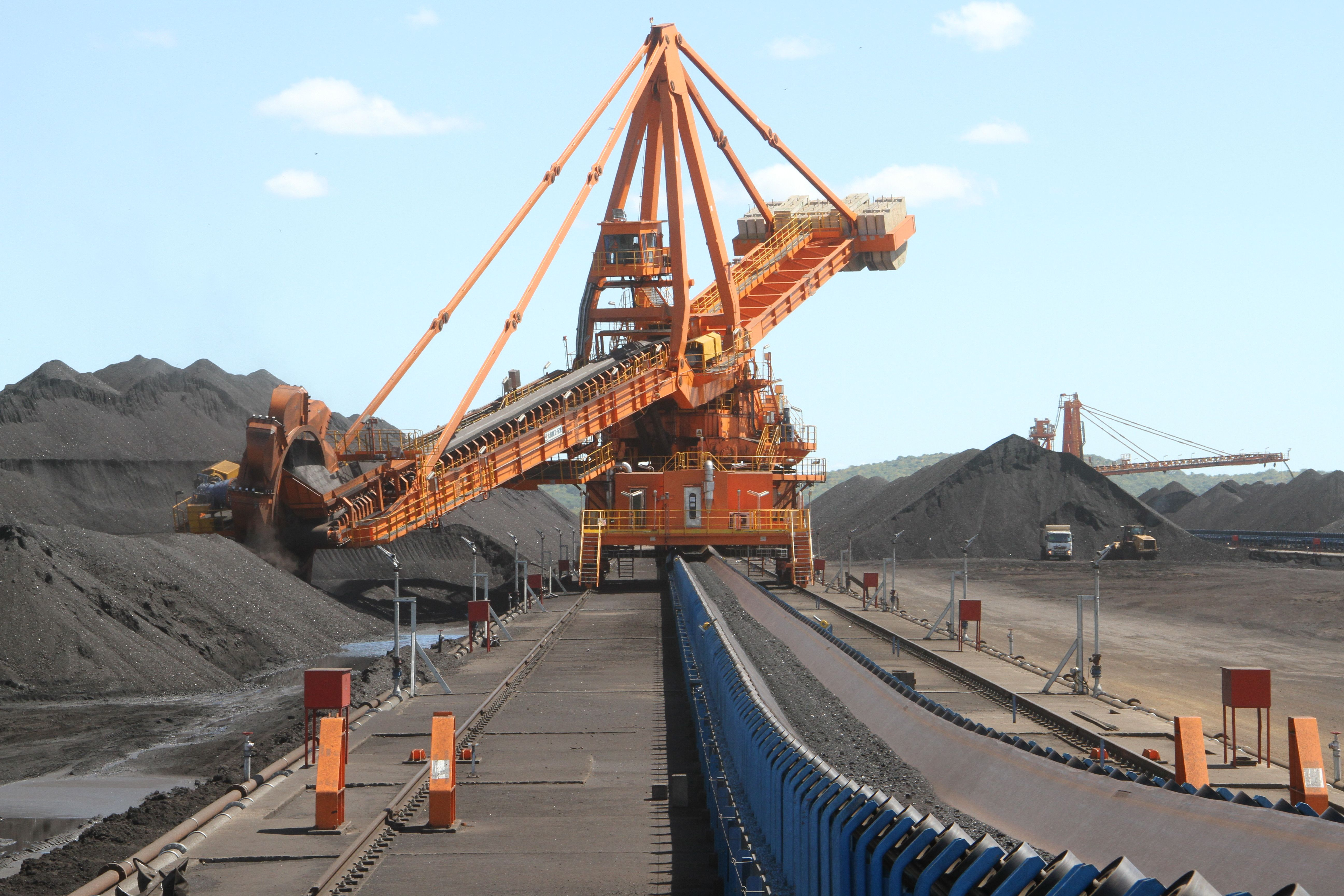 Maquinário da Mina de Carvão de Moatize - Moçambique