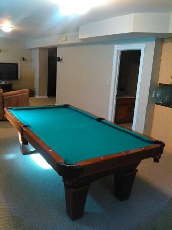 Brunswick Billiards Contender Pool Table Sold Used Pool Tables - Brunswick contender series pool table