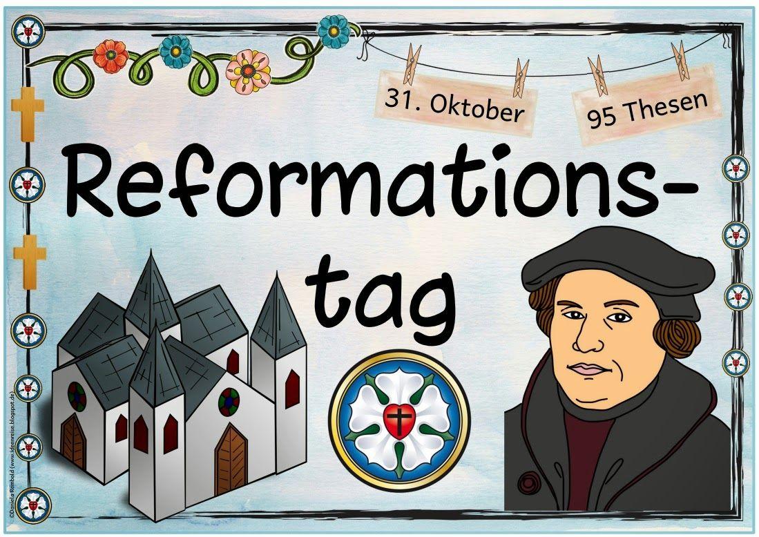"""Ideenreise Plakat """"Reformationstag"""" Reformation"""