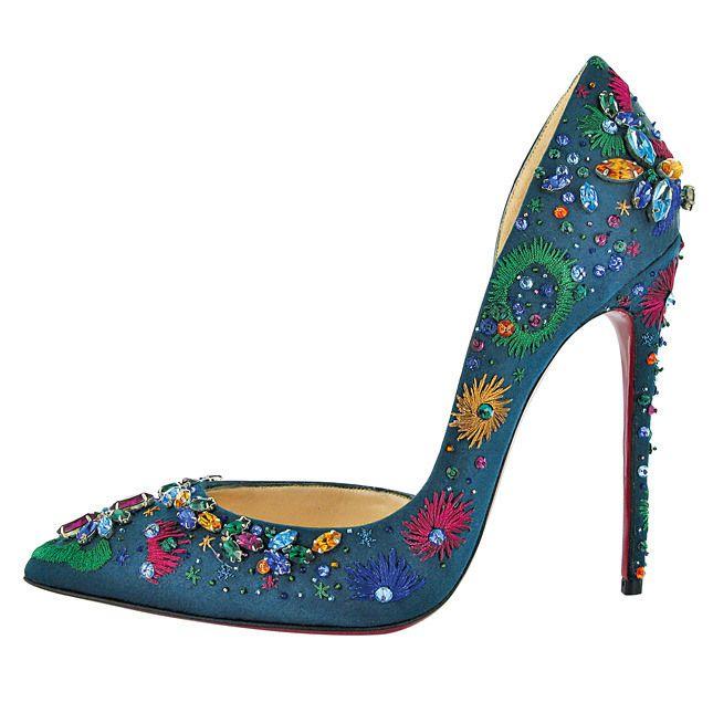 Christian Louboutin Artifice Pumps #CL #Louboutins #Shoes