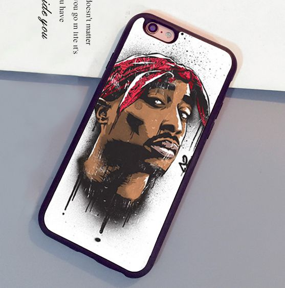 uk availability de4ff 01228 2Pac Tupac Shakur Rap Singer Mobile Phone Cases OEM For iPhone 6 6S ...
