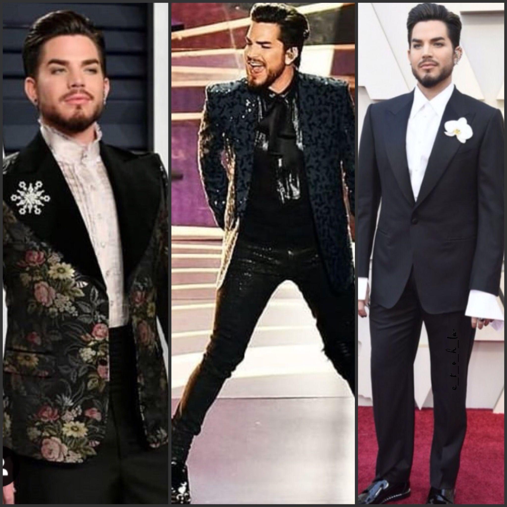 2019 02 24 Adam Lambert Oscars 1 Oscar Party 2 Opening The Oscars W Queen 3 Red Carpet