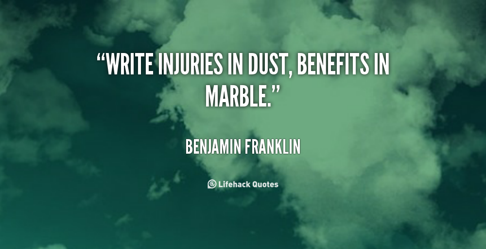 Pin by E Spalding on To live by | Benjamin franklin, Persistence
