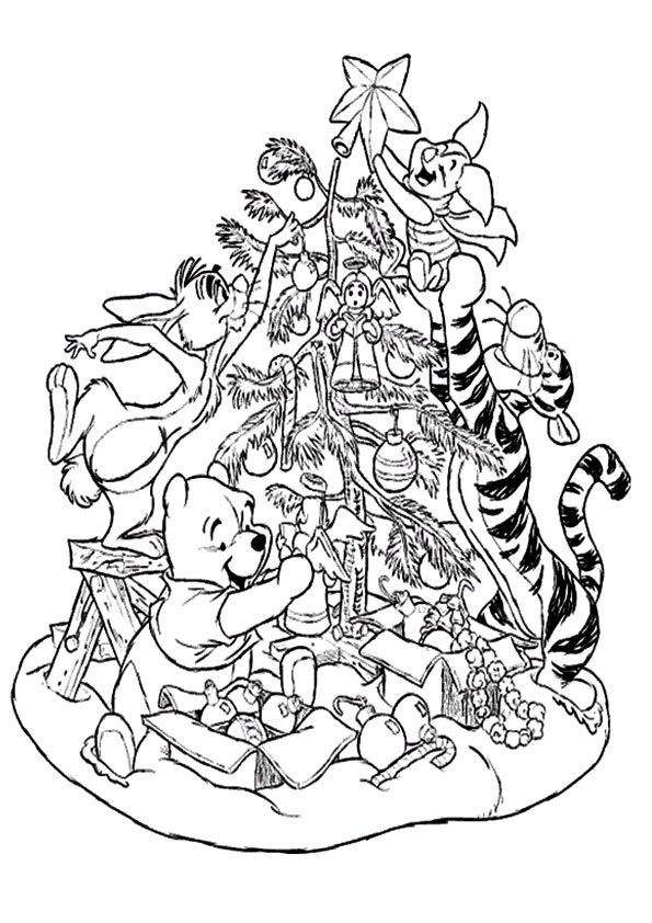 Print Coloring Image Momjunction Coloring Pages Christmas Coloring Pages Disney Coloring Pages