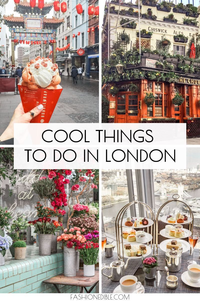 Cool Things To Do in London England - Grace J. Silla