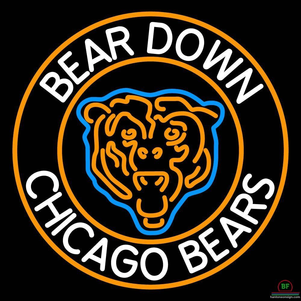Chicago Bears Neon Sign NFL Teams Neon Light | Neon signs