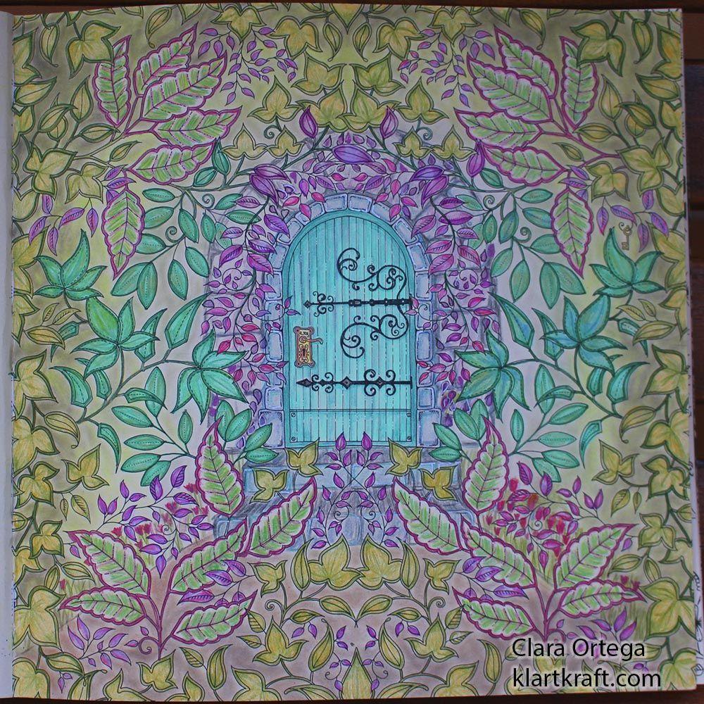Secret Garden Johanna Basford Clara Ortega Laberinto4 Jardines Secretos Jardín Secreto Imágenes Coloridas