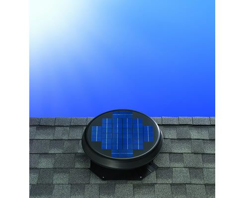 Solar Roof Ventilation System Extracts Heat And Moisture Content Out Of The Roof Space To Keep Your Living Sp Solar Roof Buy Solar Panels Solar Panels For Sale