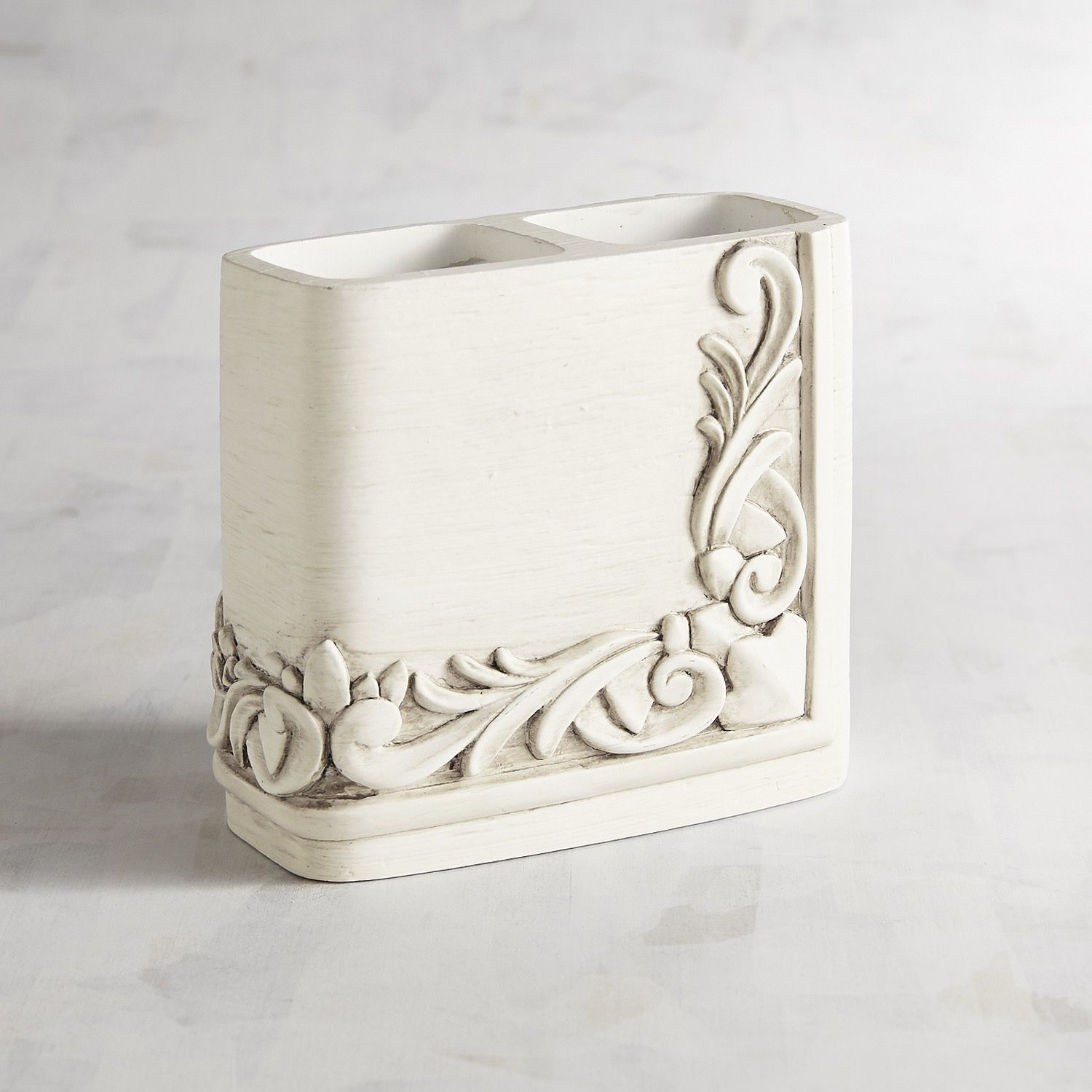 Leigha White Toothbrush Holder Leigha White Toothbrush