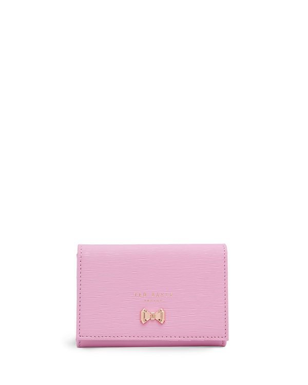 2155bb4e64062 Ted Baker Myah Curved Bow Mini Wallet