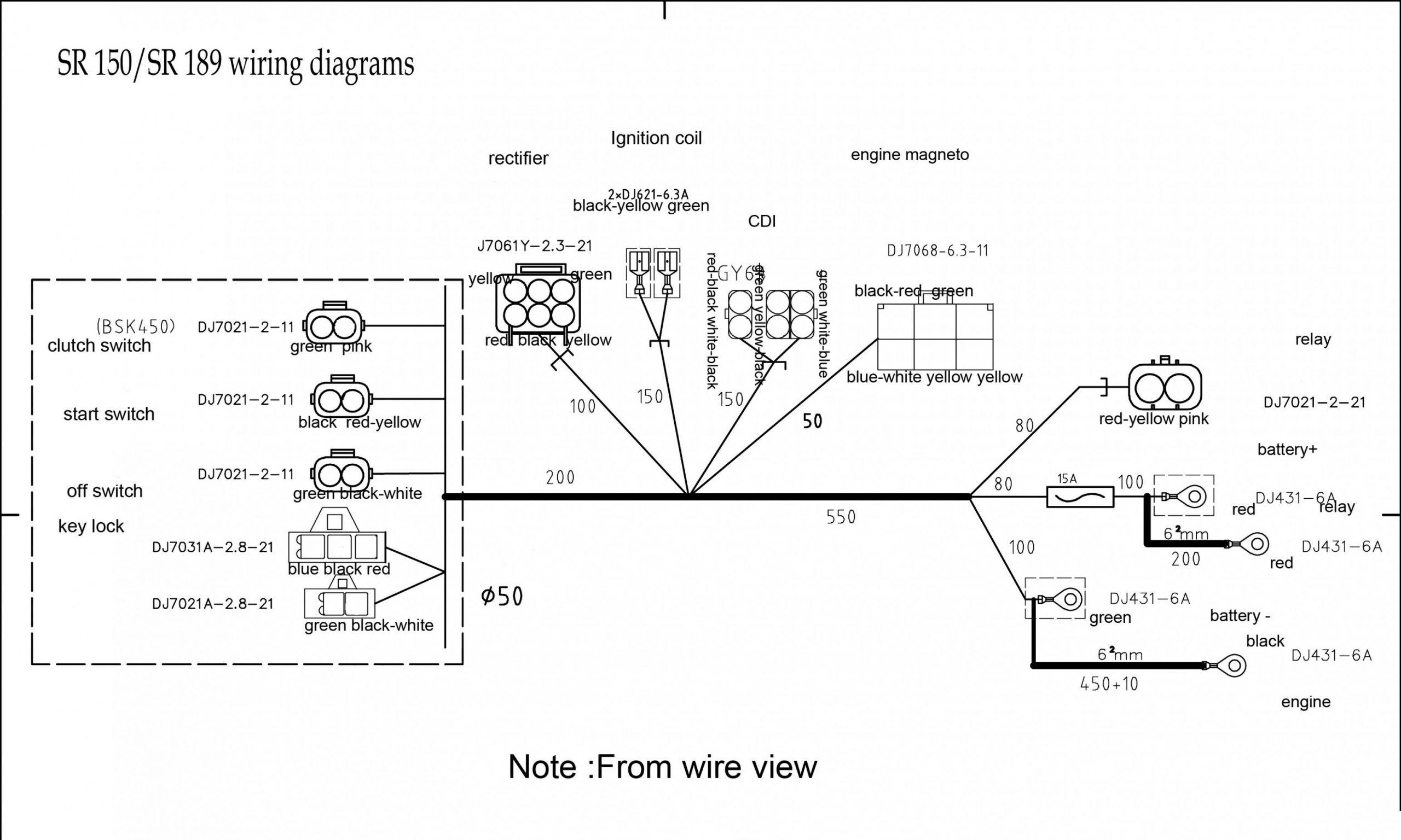 Pit Bike Engine Wiring Diagram Pit Bike Engine Wiring