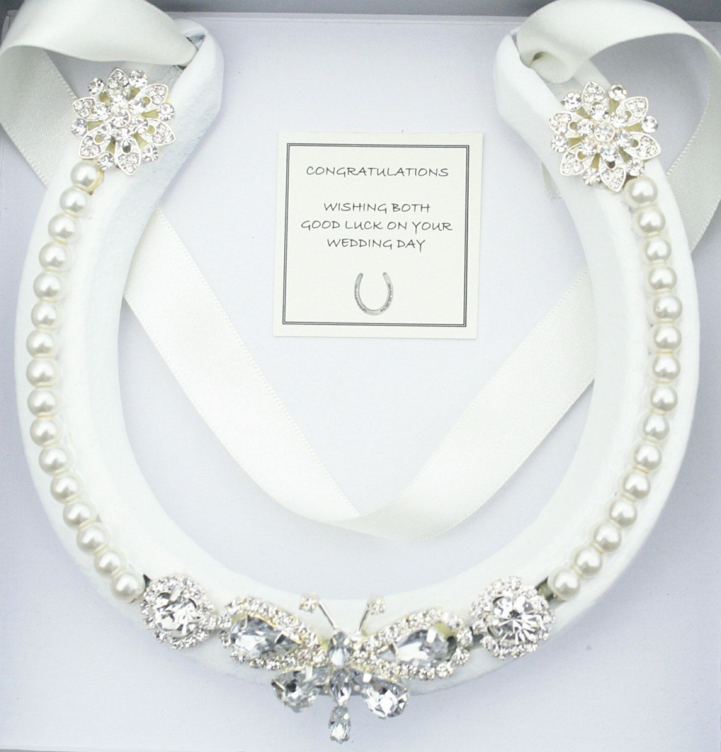 Horseshoe Wedding Gift: Wedding Bridal Real Lucky Horseshoe Good Luck Wedding