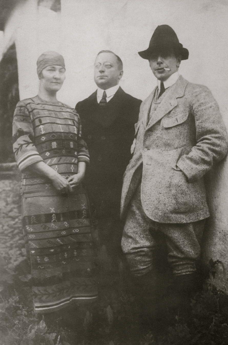 Erna Schilling, Walter Kirchner, und Ernst Ludwig Kirchner ...