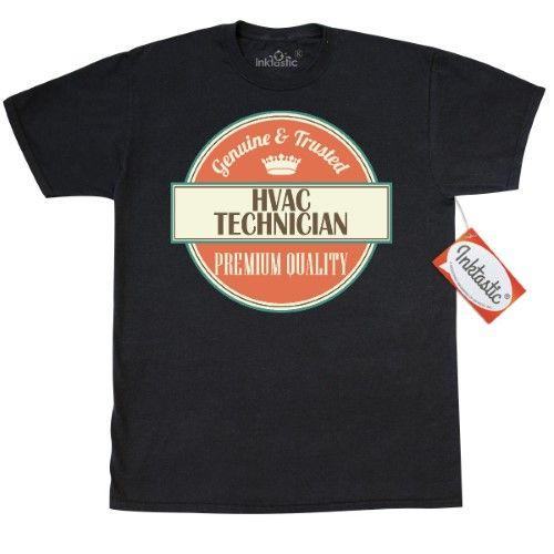 a73ea98e3 Inktastic Hvac Technician Funny Gift Idea T-Shirt Retired Occupations Job  Vintage Logo Clothing Apparel Career Mens Adult Tees T-shirts Hws, Size:  XXL, ...