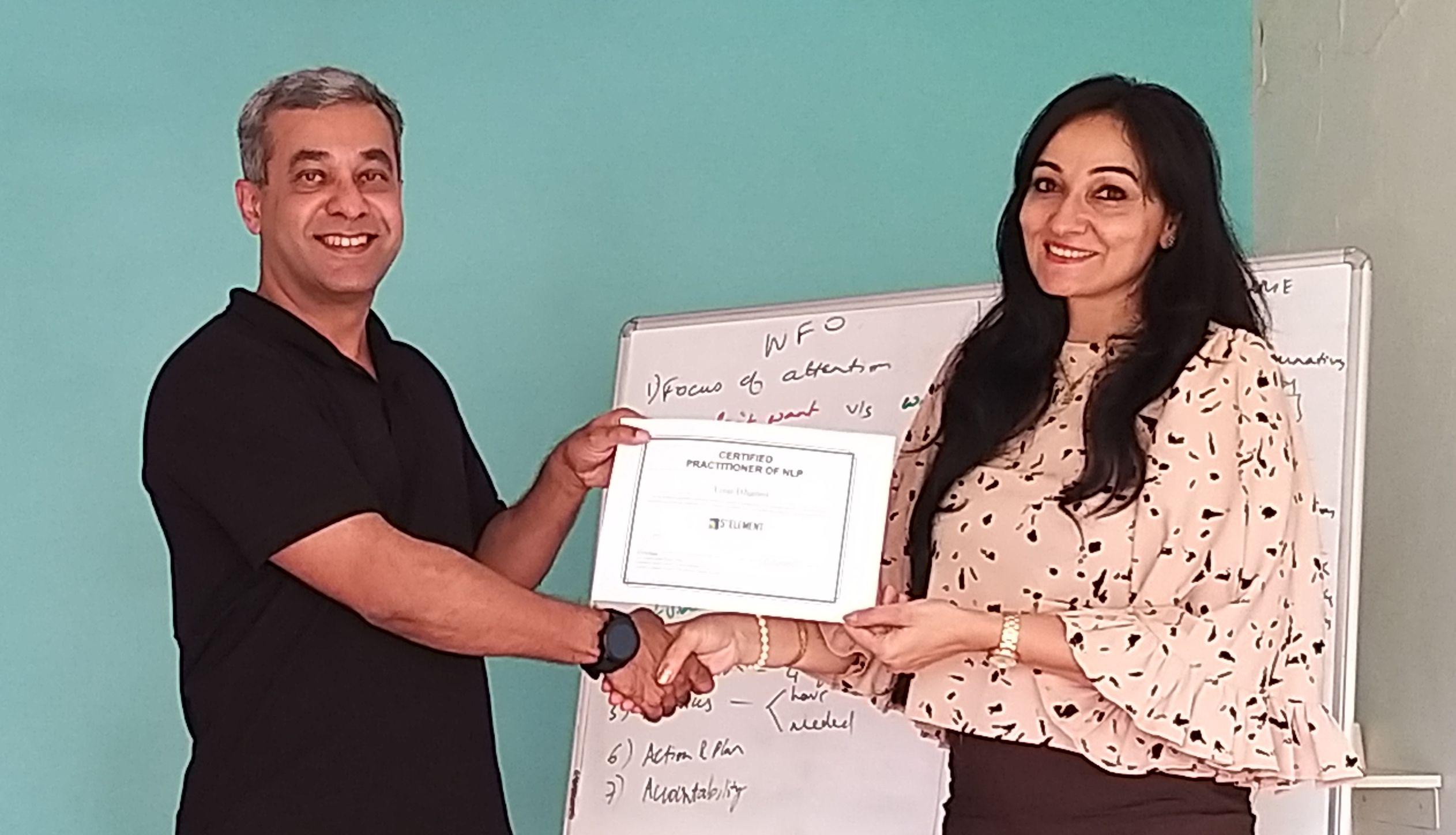 Congratulations Tina Bhanot - on successfully graduating ...
