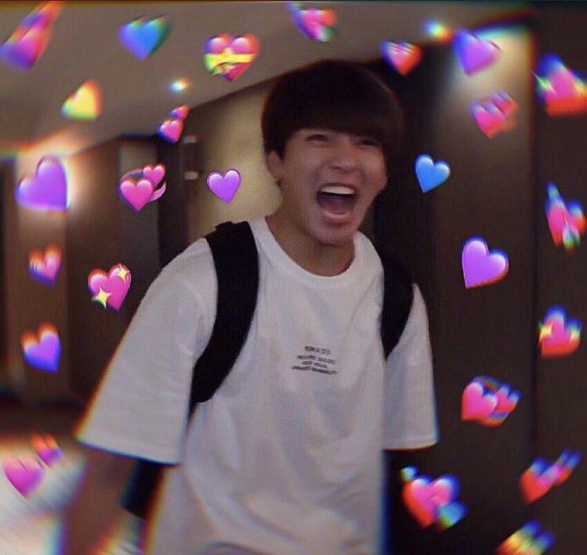 Jimin Bts Meme Memes Reaction Jungkook Heart Jungkook