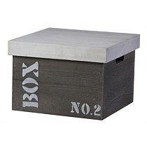 Medium Size Square Storage Box With Lid
