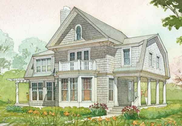 Bedford Cottage Cottage Living Southern Living House Plans Colonial House Plans Storybook House Plan Southern Living House Plans