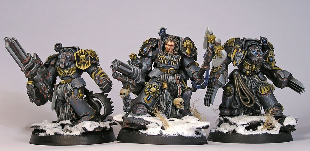 30k space wolves army - Google Search