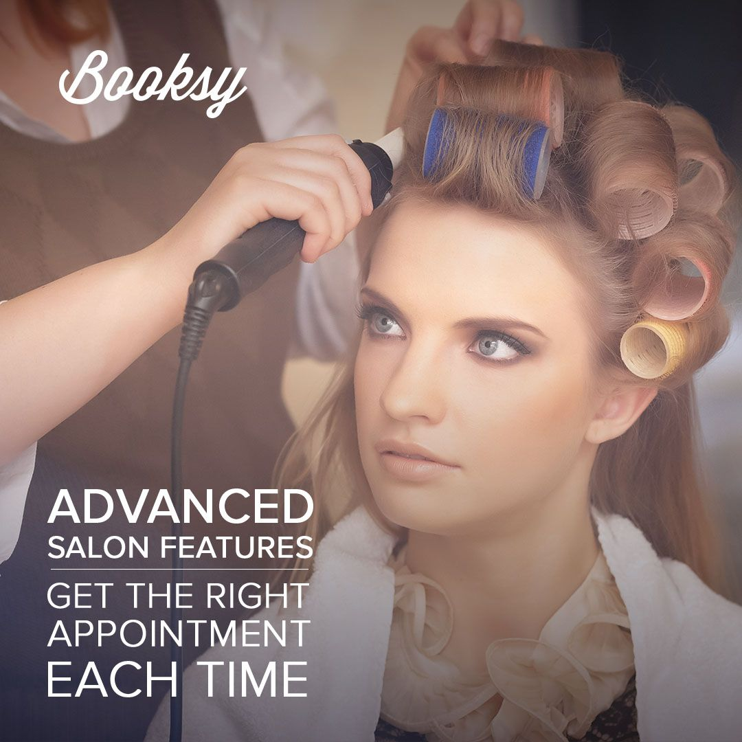 Check out Booksy for more features! Download the blue app