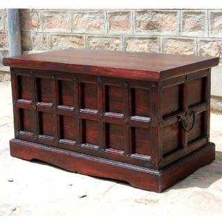 wood chest coffee table - Google Search