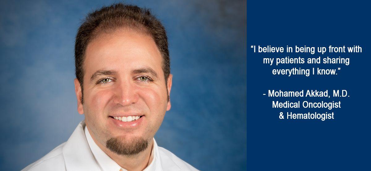 Medical Oncologist & Hematologist Mohamed Akkad, M D