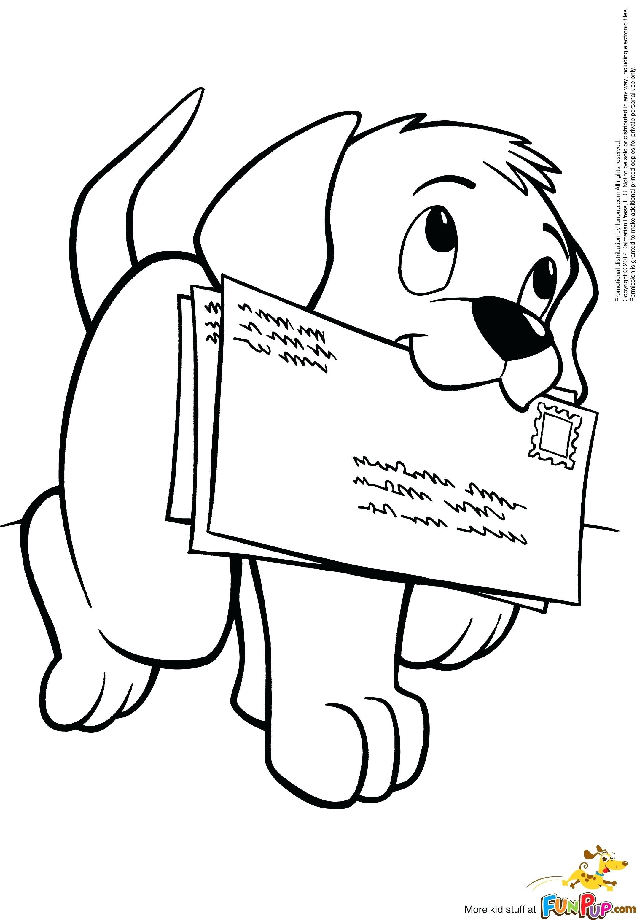 Coloring Pages Of A Dog Printable Ndash Huskypaperco Puppy