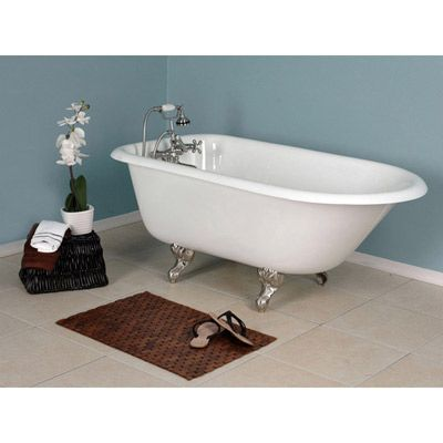 How To Refinish An Antique Claw Foot Tub Check Out My New Tub