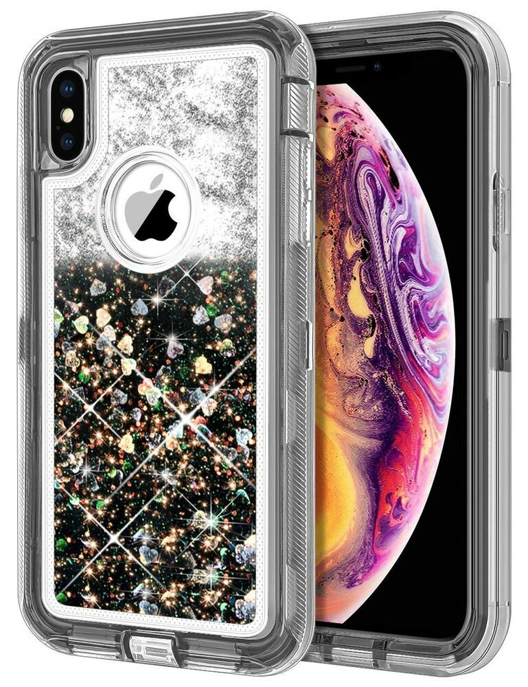 the best attitude d70b7 3c142 JAKPAK Case for iPhone XS MAX Case Glitter Bling Sparkle for Girls ...