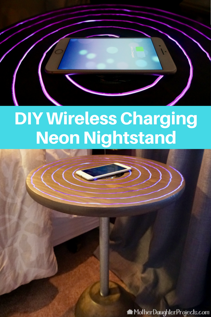 Wireless iPhone Charger Nightstand | Pinterest | Nightstands, Iphone ...
