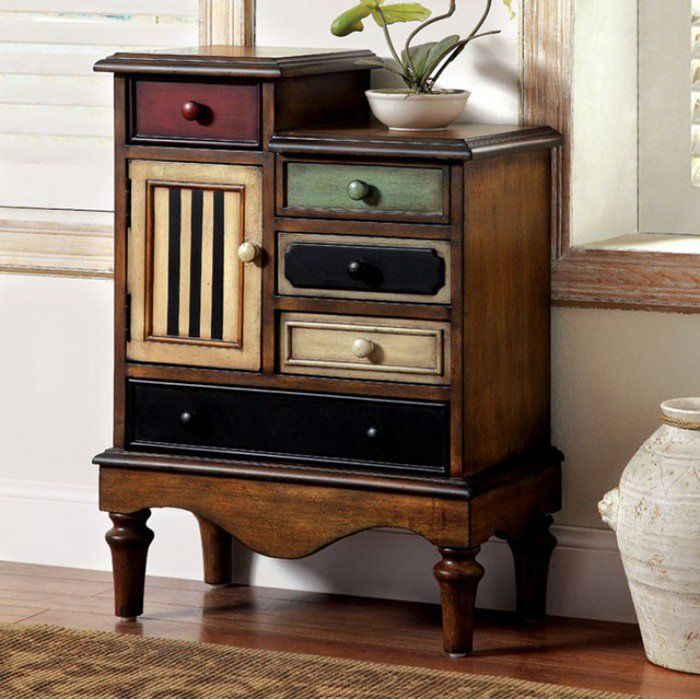 Affordable Retro Furniture: Pinheiro Vintage 4 Drawers Accent Chest In 2019