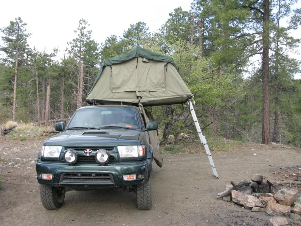 Which rooftop tent would fit better on a 2001 4Runner