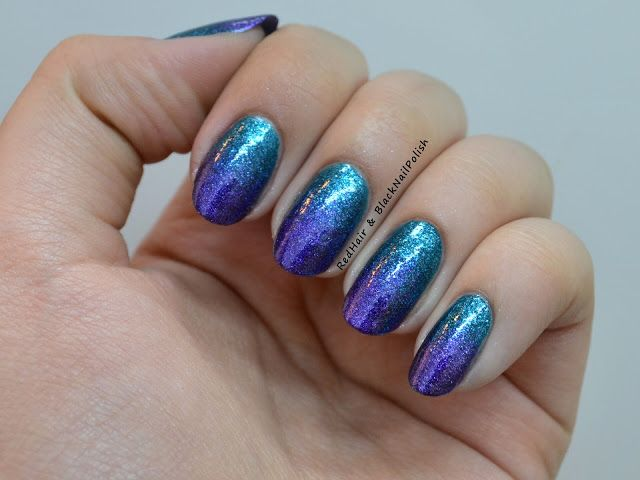 Turquoise And Purple | Red Hair and Black Nail Polish: May 2012