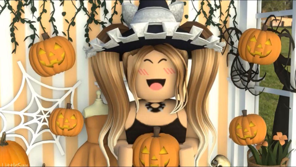 Halloween In 27 Days In 2020 Cute Tumblr Wallpaper Roblox Animation Cute Disney Wallpaper