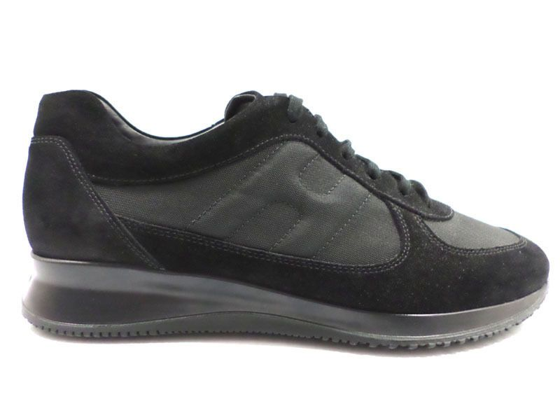 scarpe uomo HOGAN 46 sneakers interactive nero AZ455   Scarpe ...