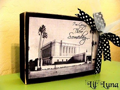 This site has tons of temple pictures ready to download and use for this craft.  Super easy and a super affordable craft....wish I had seen this two months ago....guess it will go in the idea bank!