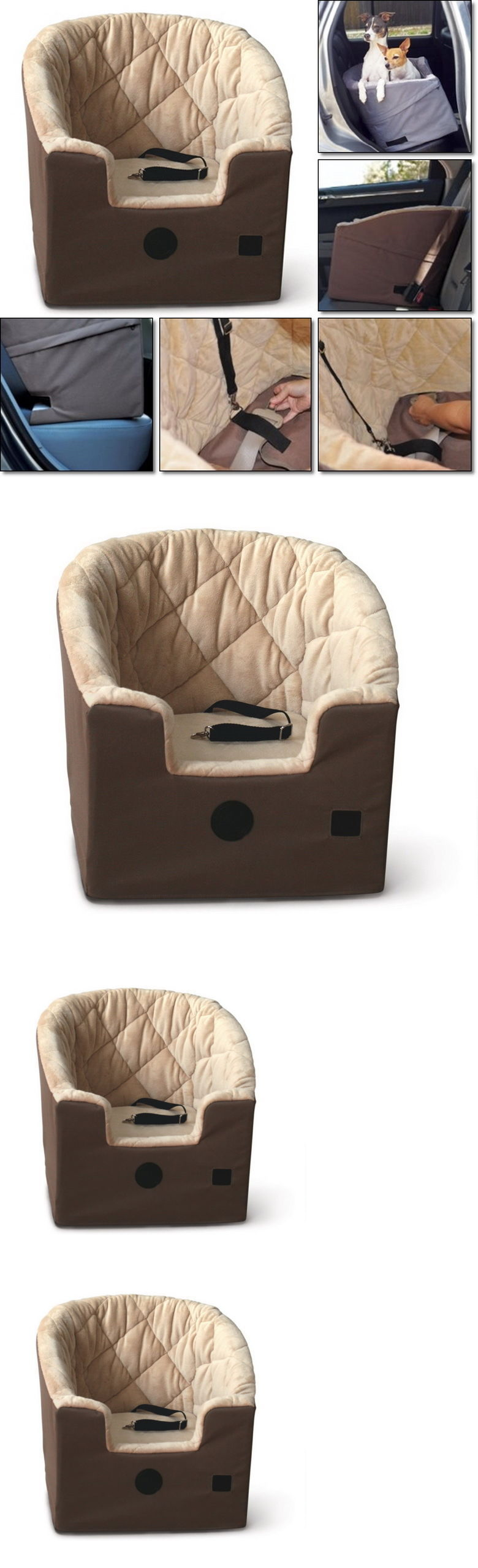 Car seats and barriers pets dog cat bed booster carry car