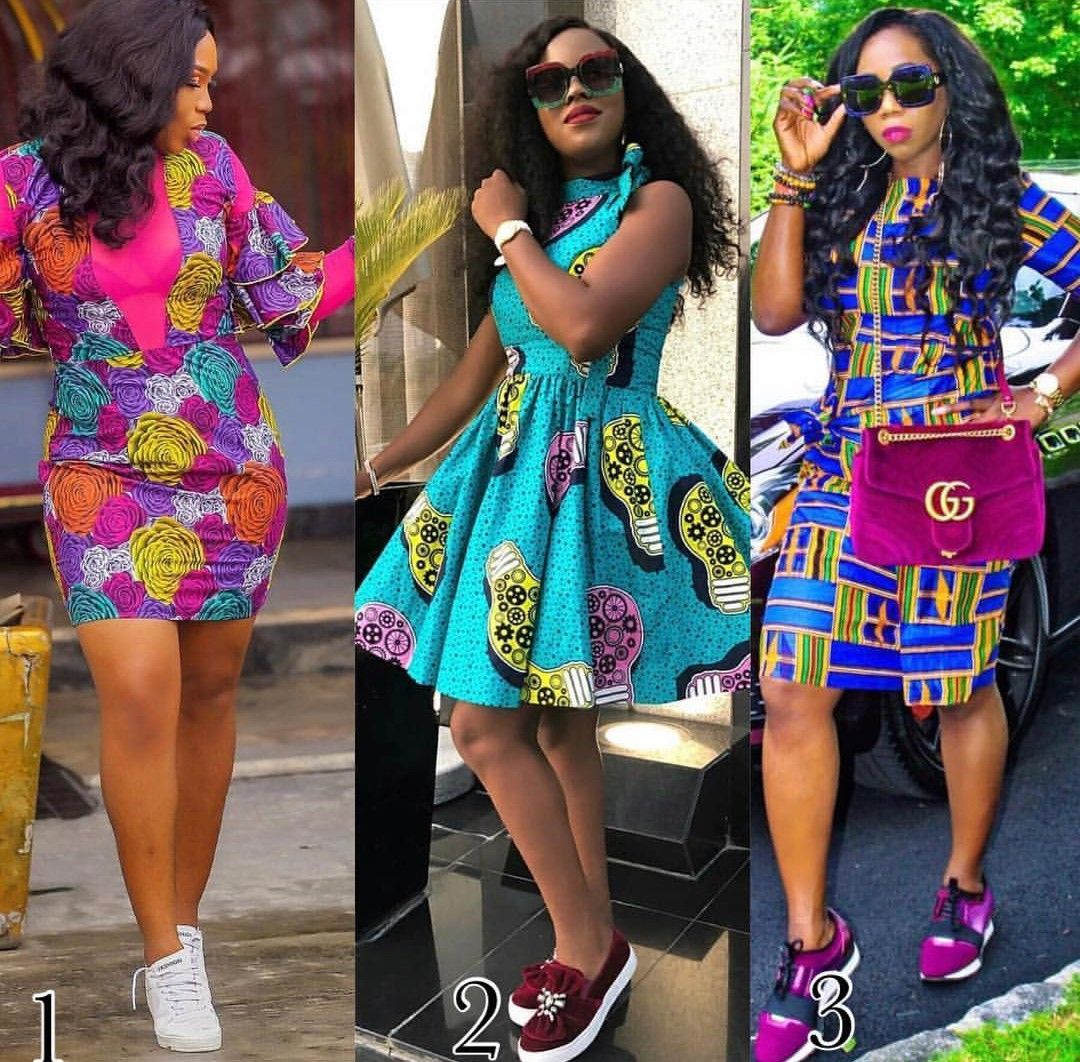 Mini Kitenge Dresses 2019 Better At Emphasizing The Beauty African Fashion African Inspired Fashion African Fashion Modern