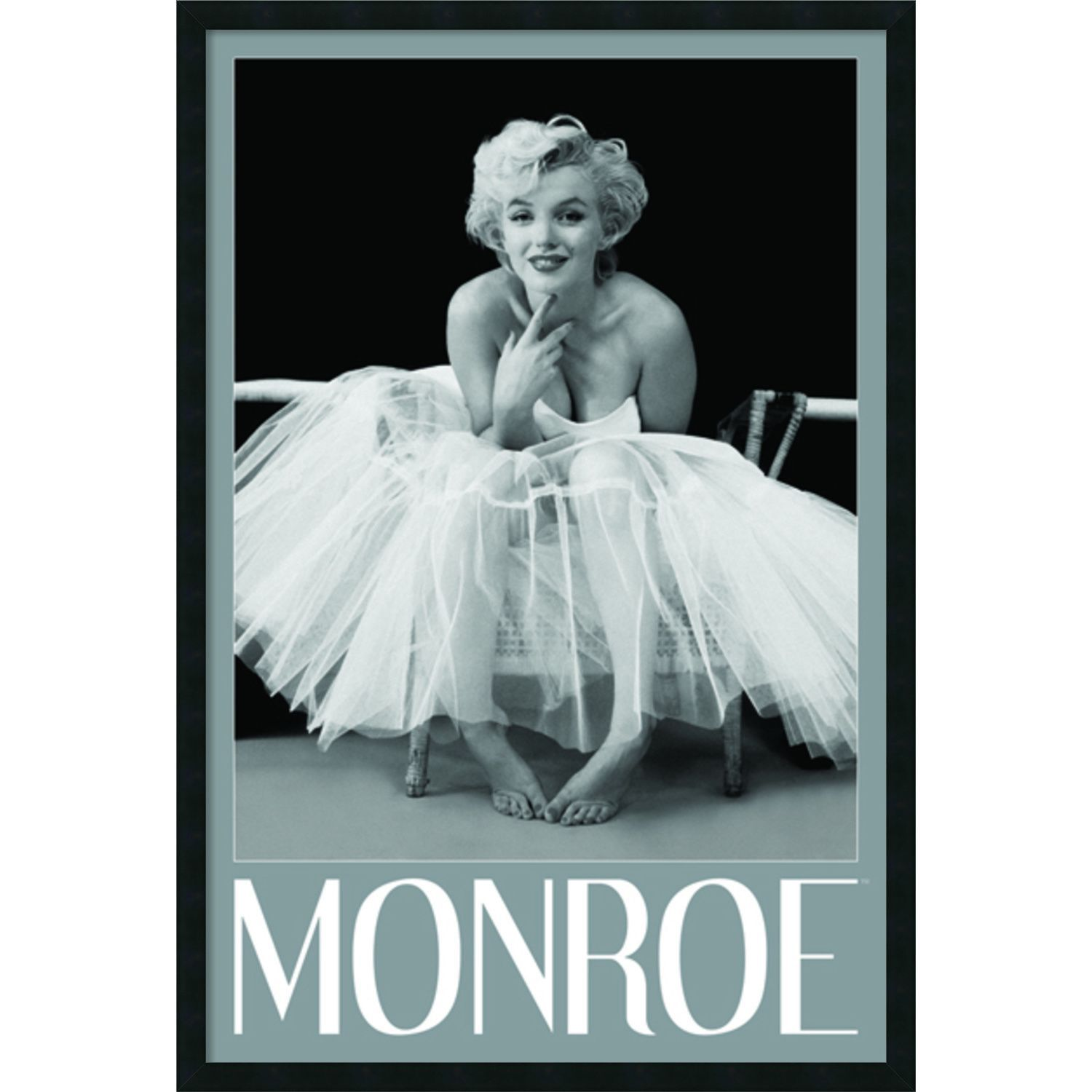 Milton H. Greene \'Marilyn Monroe - Ballerina\' Framed Art Print with ...